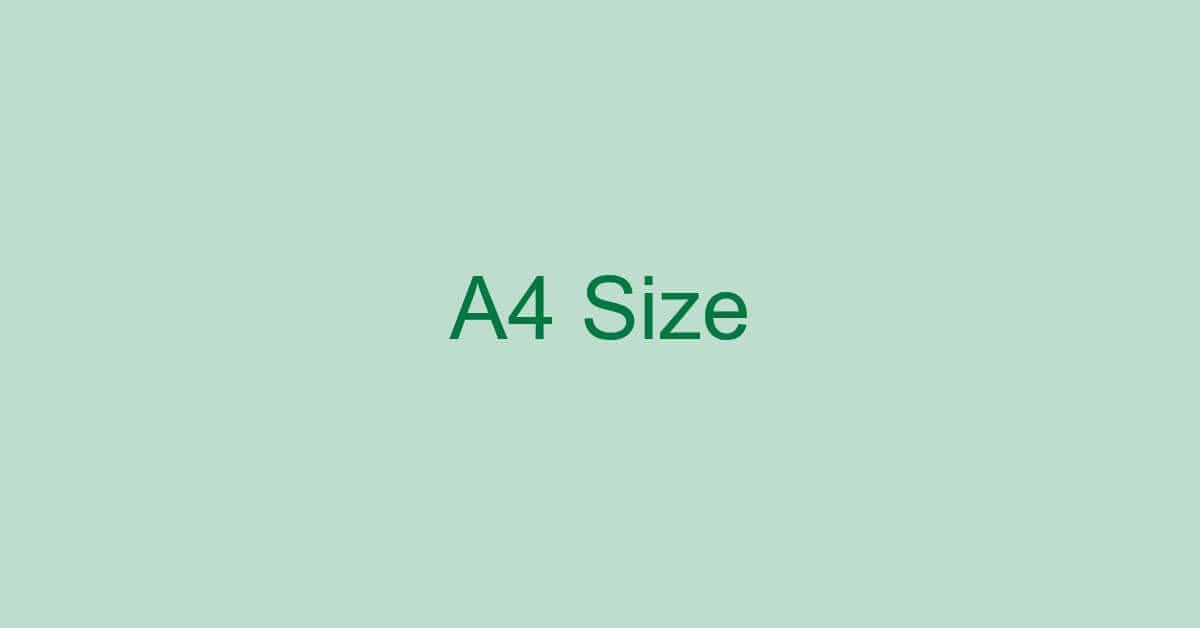 エクセルをA4サイズ枠で表示してデータ作成する方法
