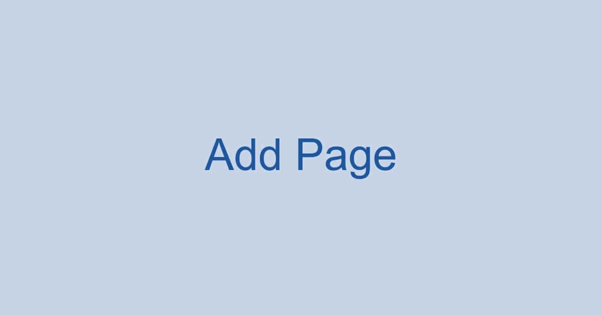 Wordのページの追加方法(文書の途中でページを増やす方法など)