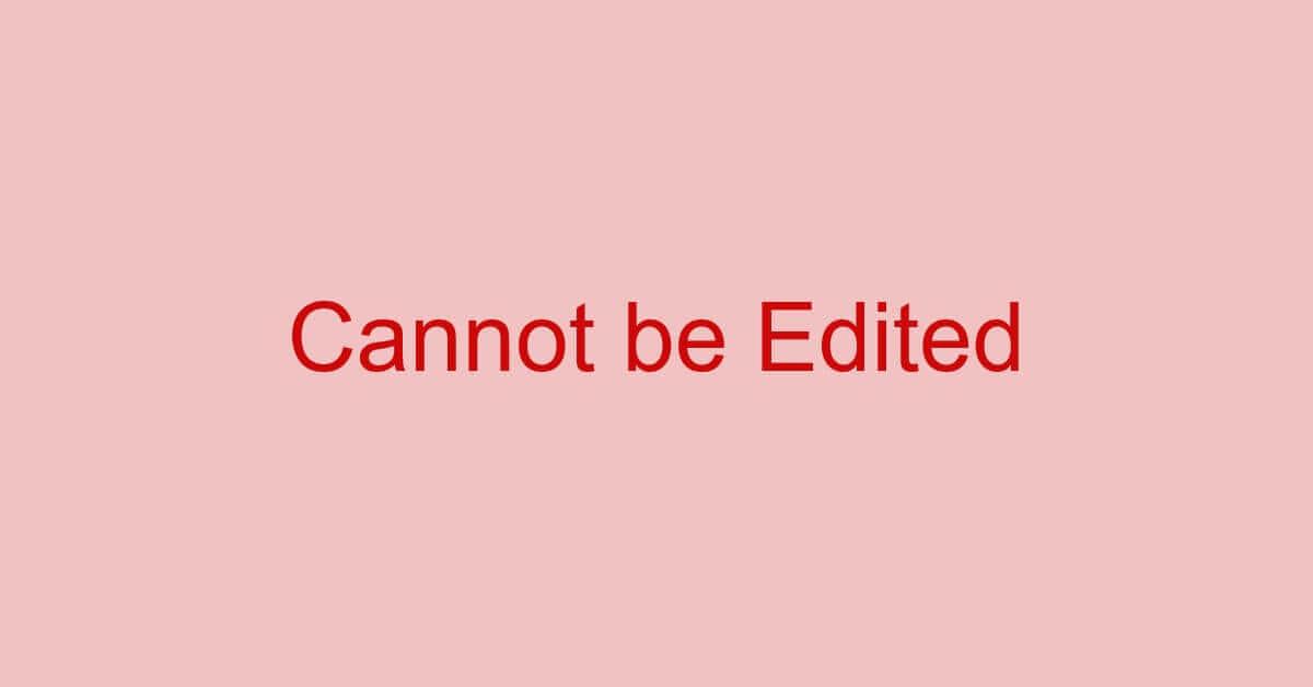 PDFのテキストが編集できない場合の対処法(ロックの解除など)