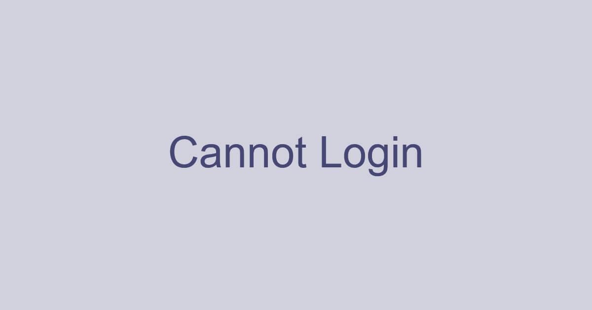 Microsoft Teamsにサインイン(ログイン)できない場合の対処法