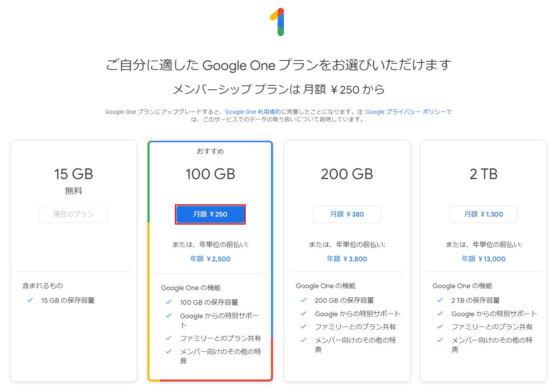 月額250円