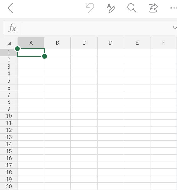 Excelファイルが開いた