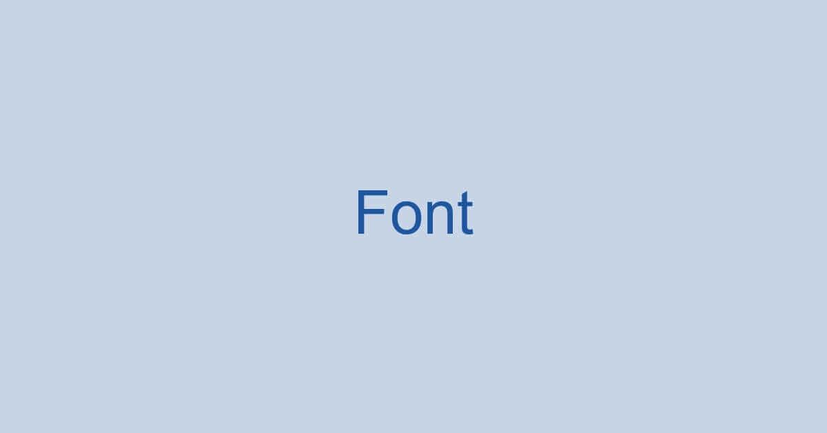 ワードのフォントに関する情報まとめ(フォント固定の設定など)