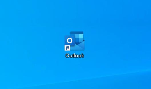 デスクトップのOutlookを開く