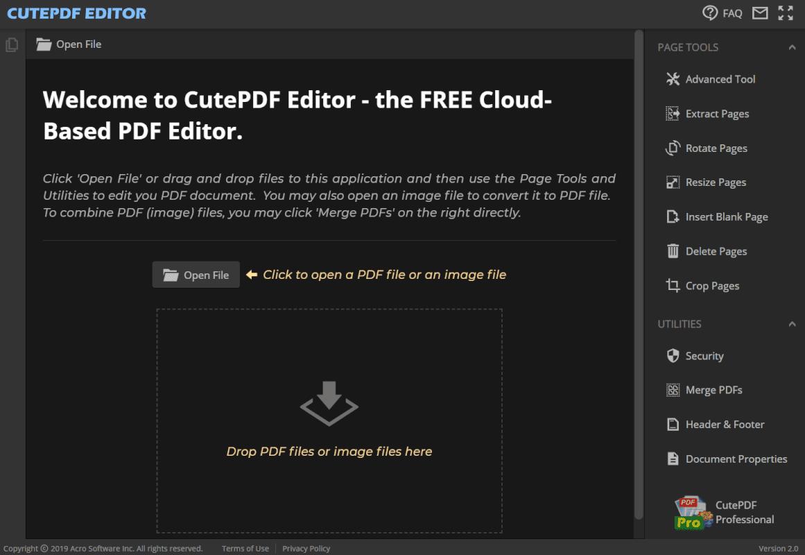 CutePDF Editor