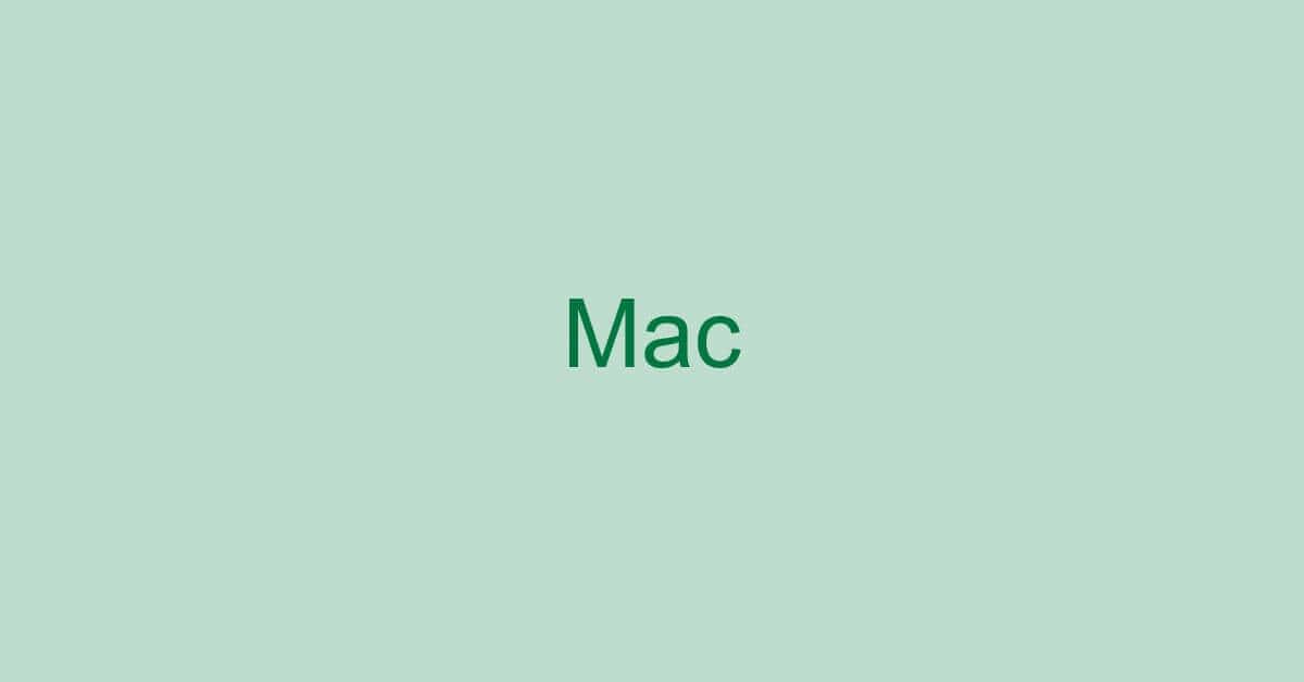 Macでのエクセルの使い方や使えない場合の対処など