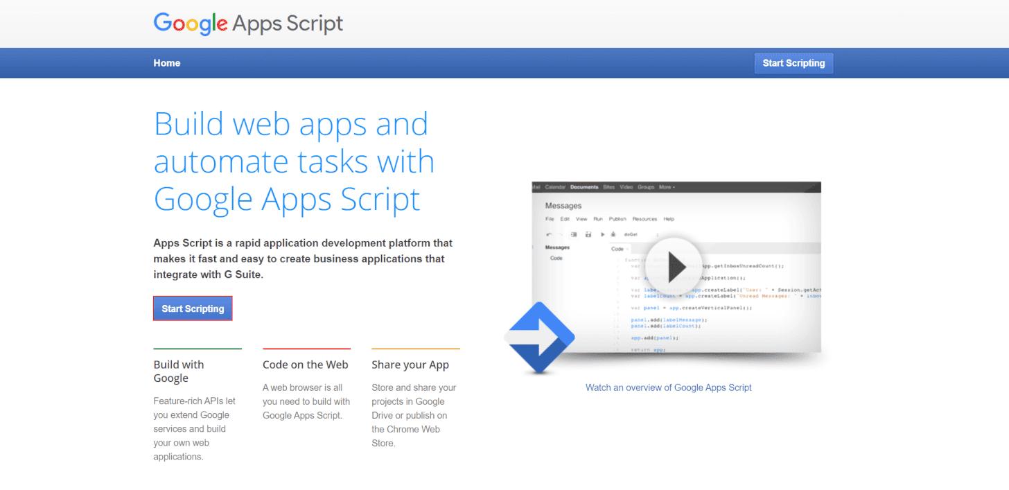 Googleappscript
