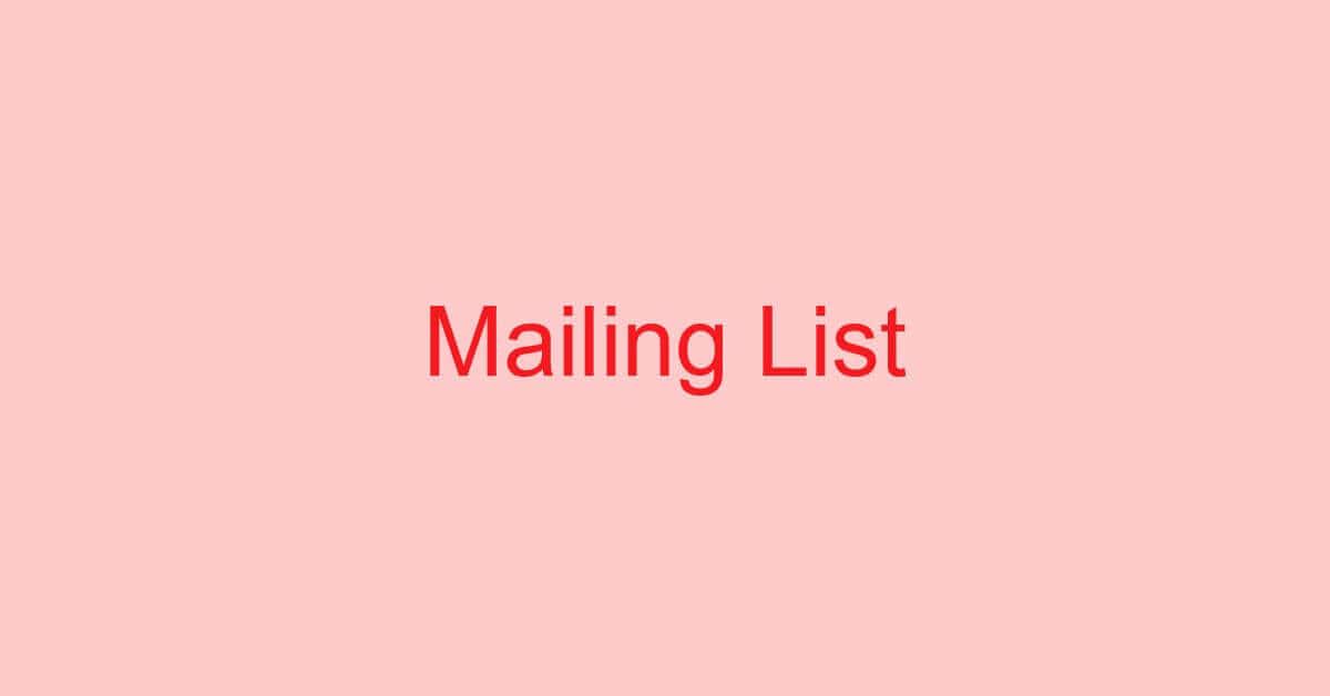 Gmailでメーリングリストを作成する方法(届かない時の対処も)