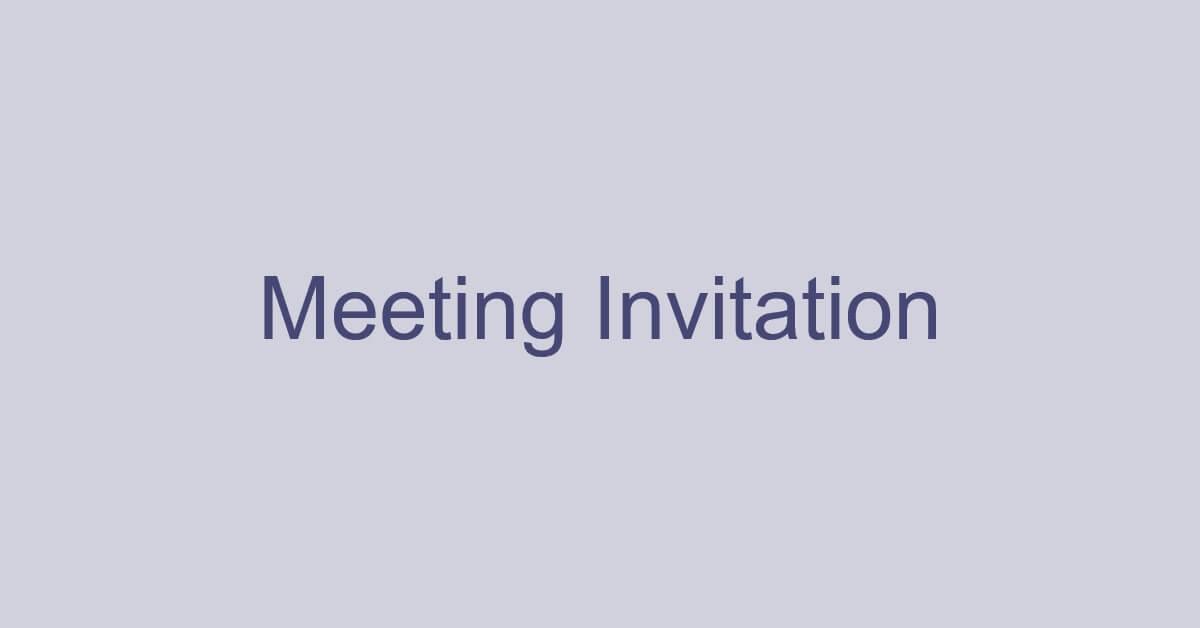 Teamsの会議に招待する方法(招待メールの転送など)