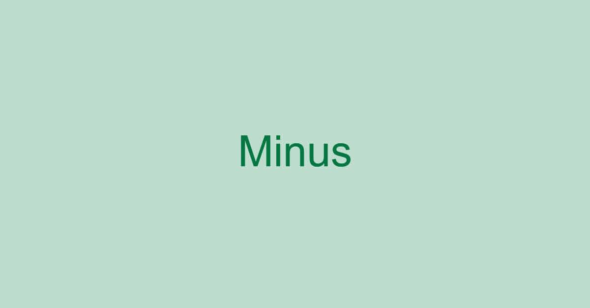 エクセルでマイナスを表示する方法と表示しない方法