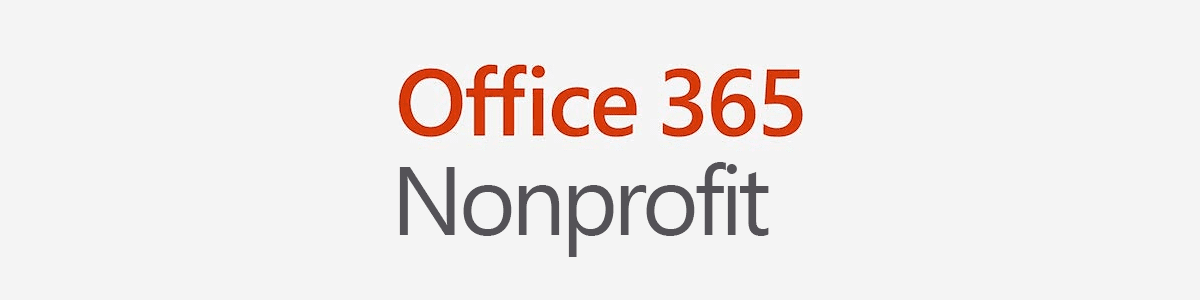 Office 365 Nonprofit logo
