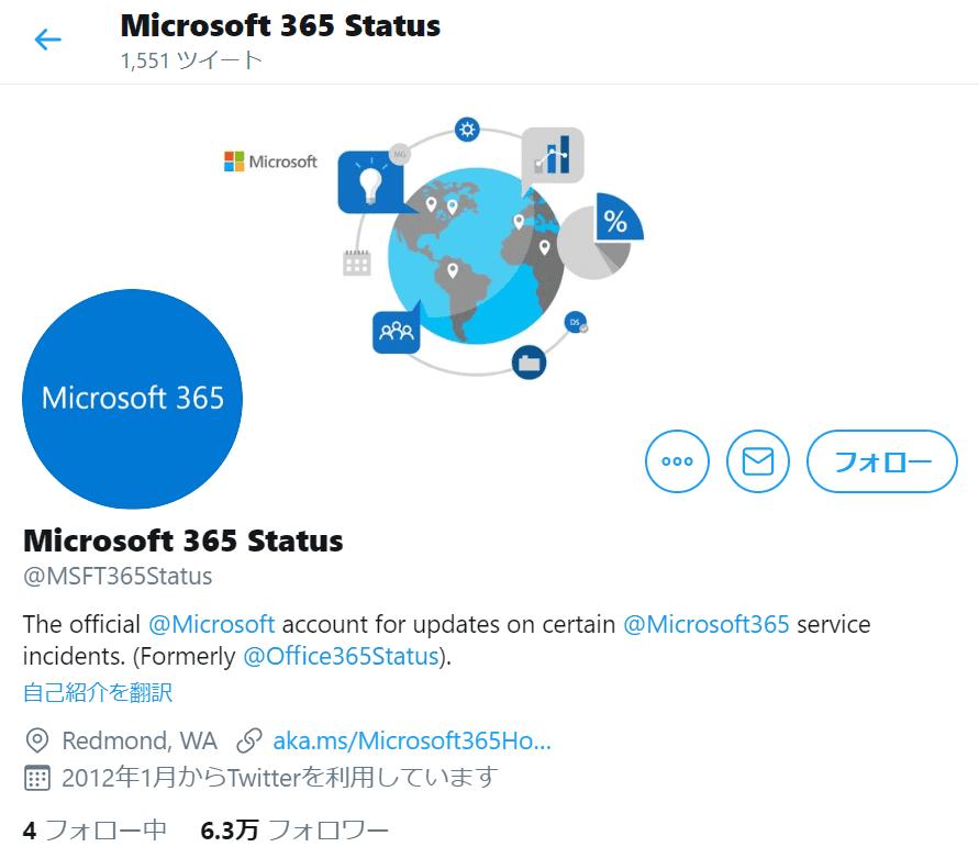 Microsoft 365 Status