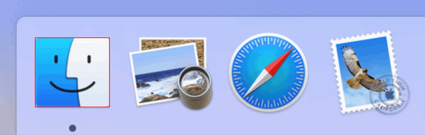 pages Mac Finder 開く