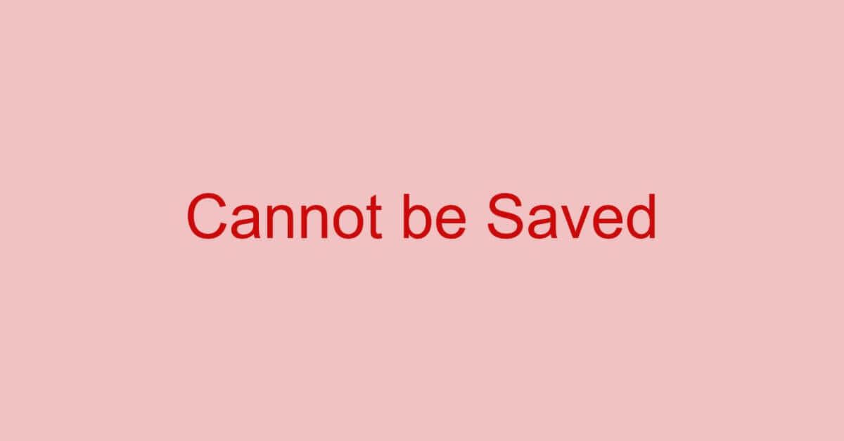 PDFが保存できない場合の対処方法