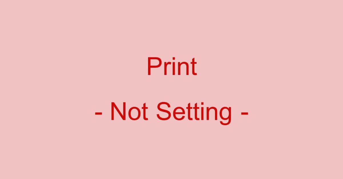 PDFファイルを印刷できない設定