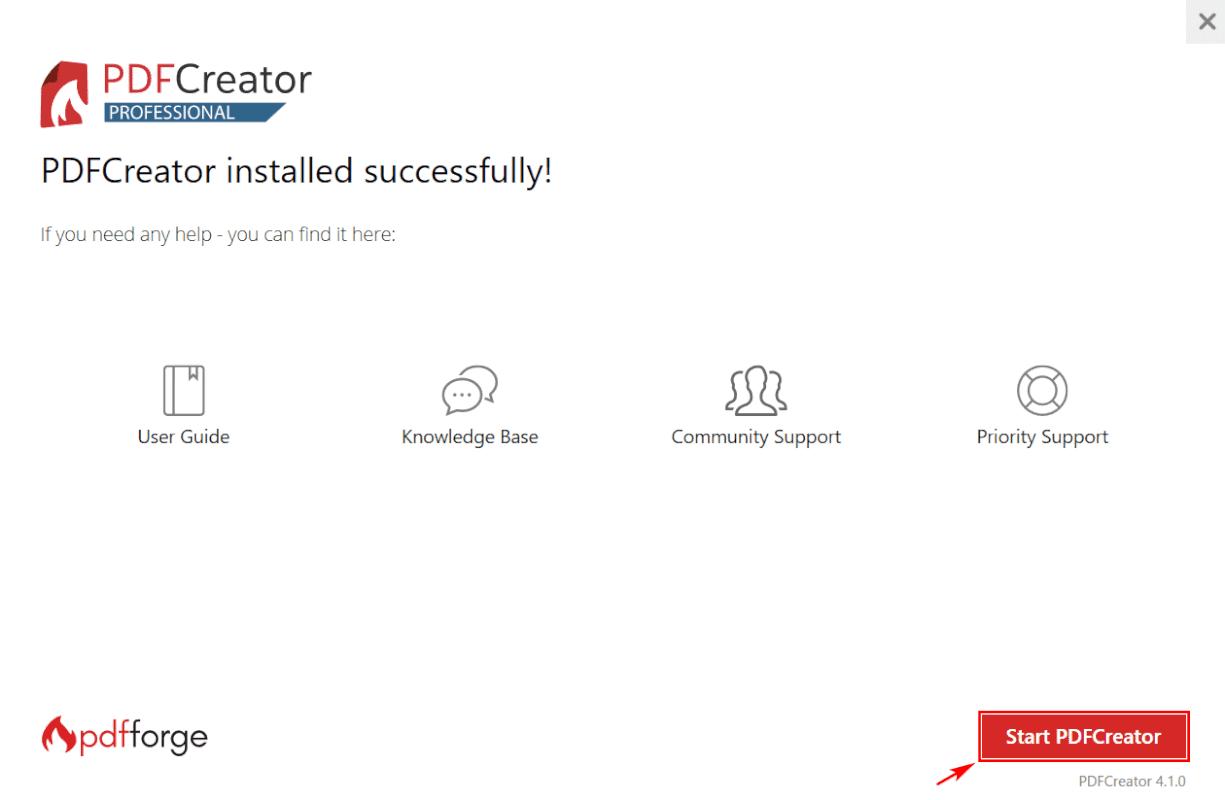 Start PDF Creator