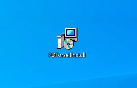 PDForsellのインストーラー