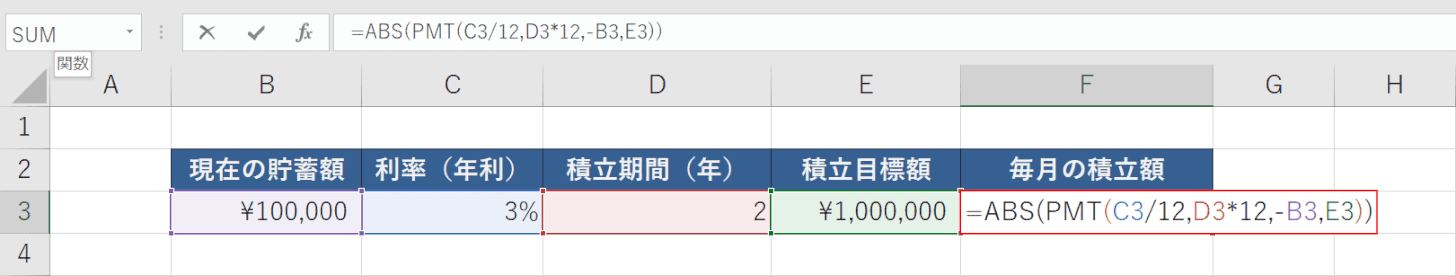 ABS関数