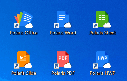 PolarisOfficeアイコン