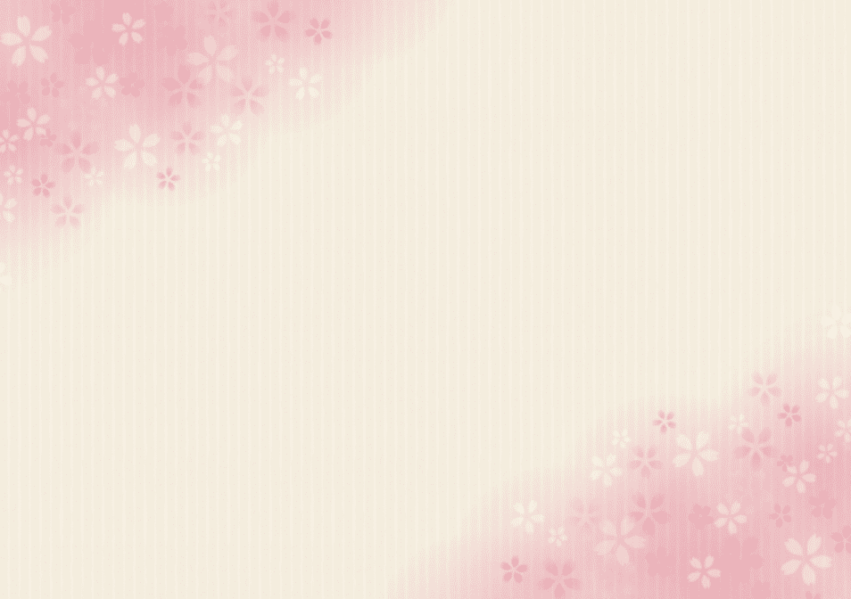 花のテンプレート