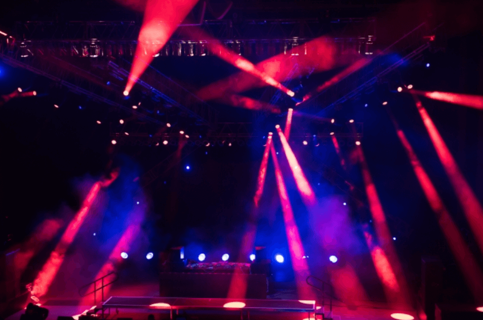 ライブのフライヤー