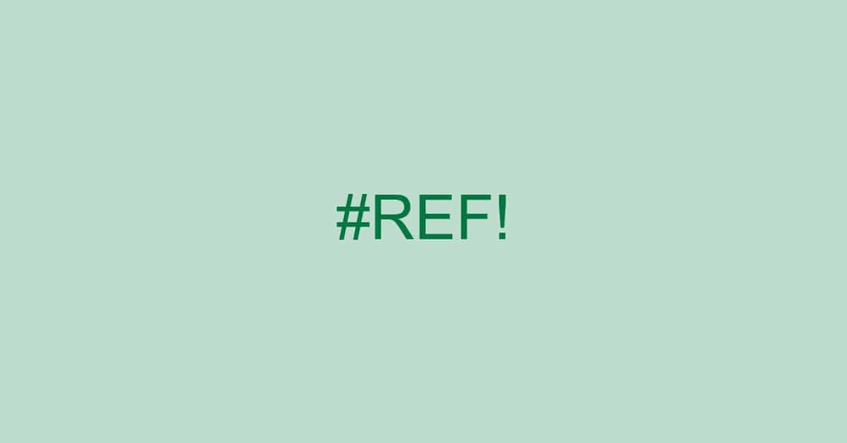 エクセルで表示される#REF!の意味とは?エラーの回避方法もご紹介