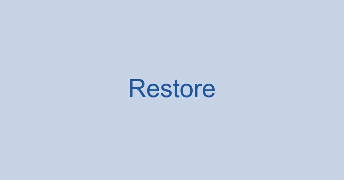Wordの復元方法に関する情報まとめ(保存せずに終了した場合など)