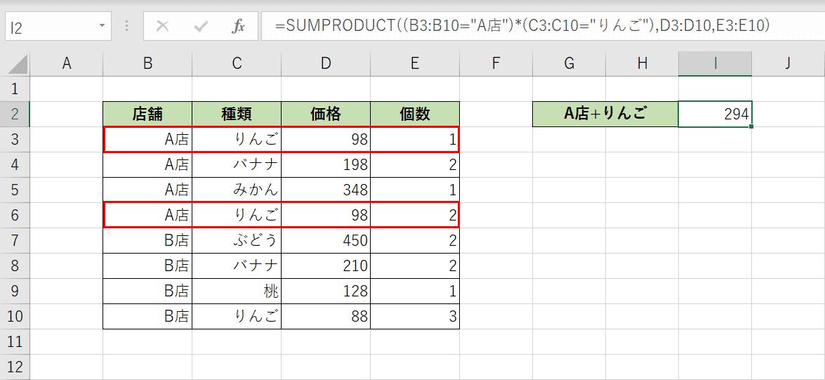 数式の結果