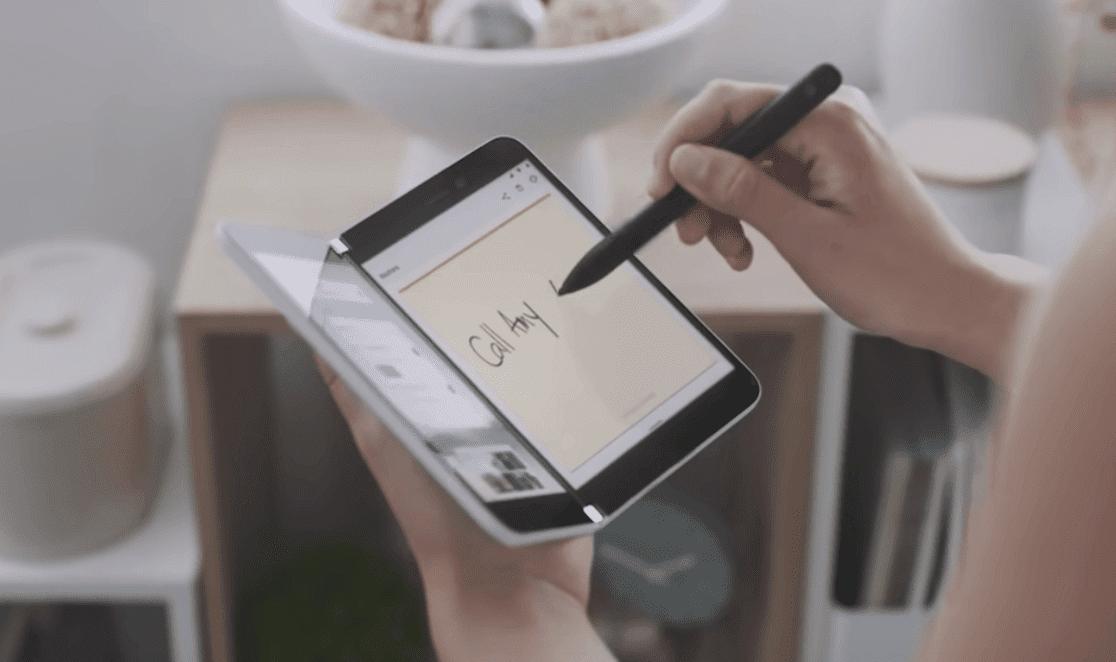 ペンで手書きを書ける