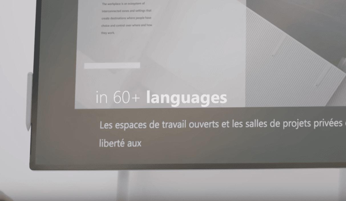 60以上の言語に対応