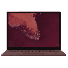 Surface Laptop 2 バーガンディ
