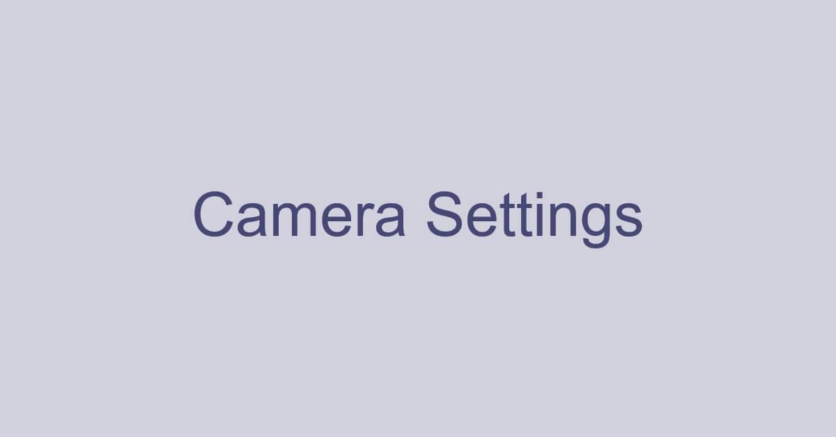 Microsoft Teamsでのカメラの設定(カメラをオフにするなど)