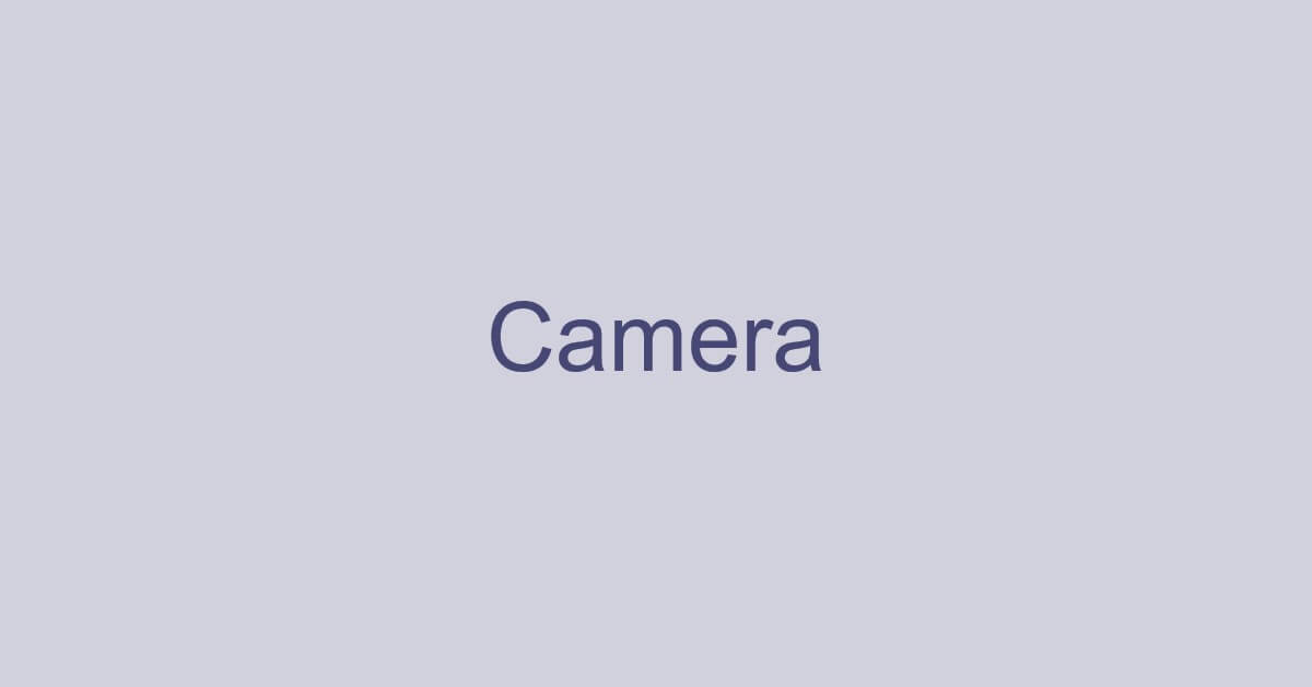 Teamsで使用するカメラに関する様々な情報(左右反転の問題など)
