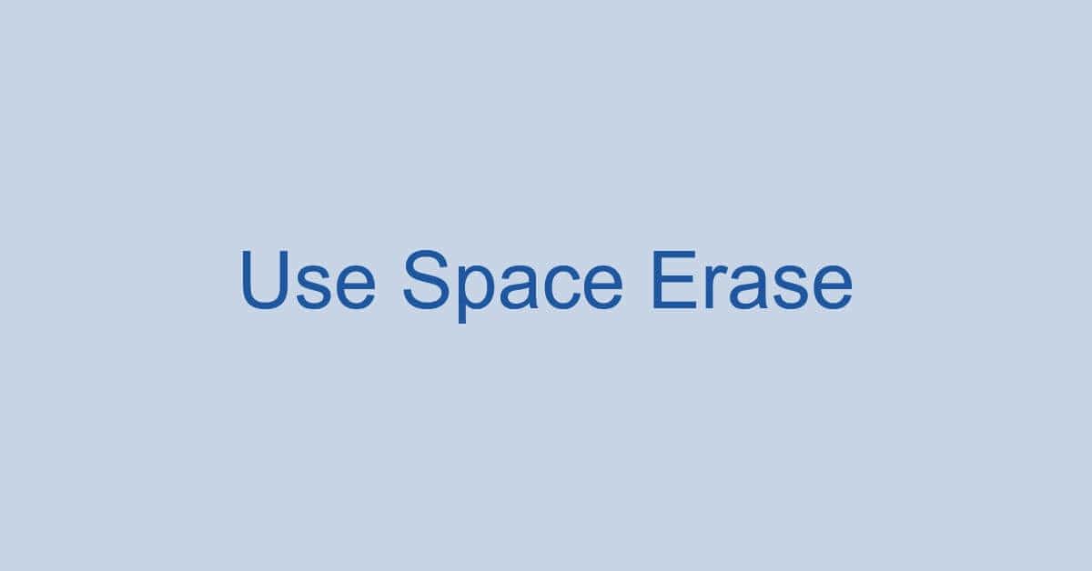 ワードでスペースを押すと文字が消える場合の対処法