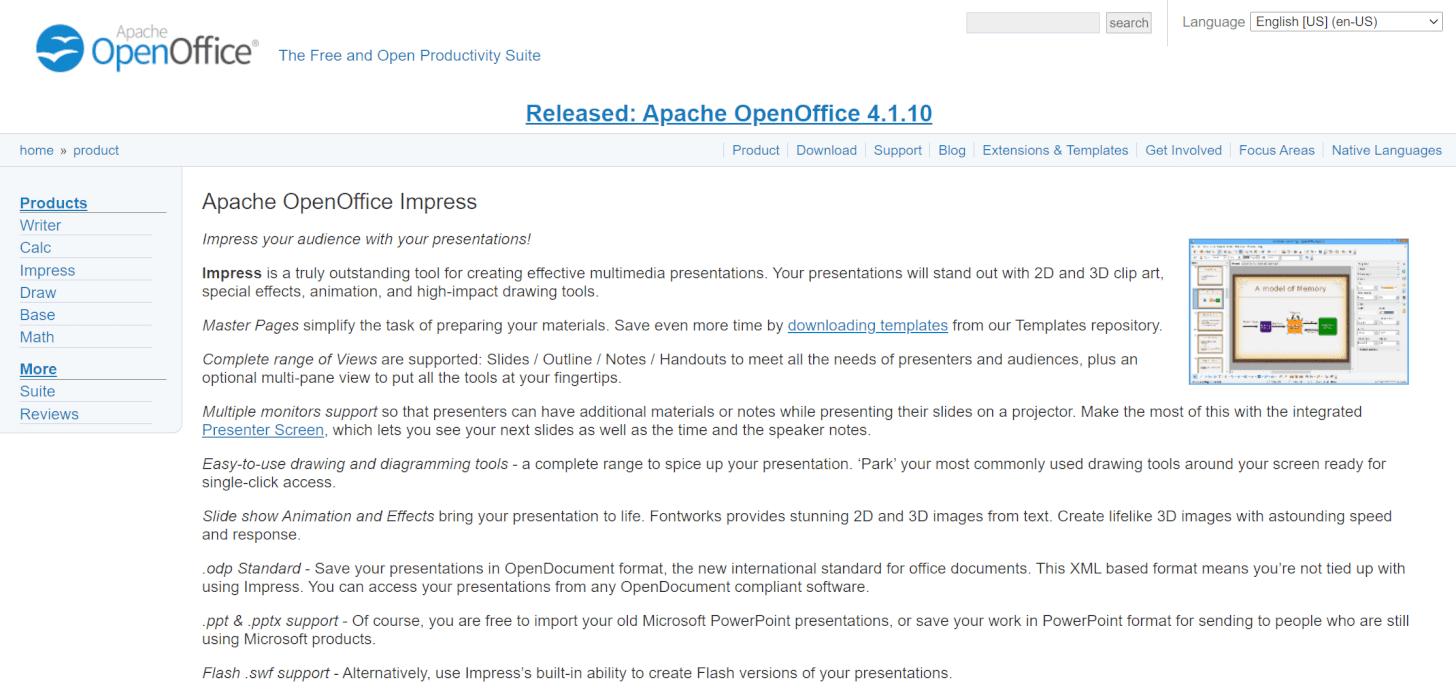 Apache Open Office/Impress