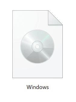 ISOファイルのダウンロード完了