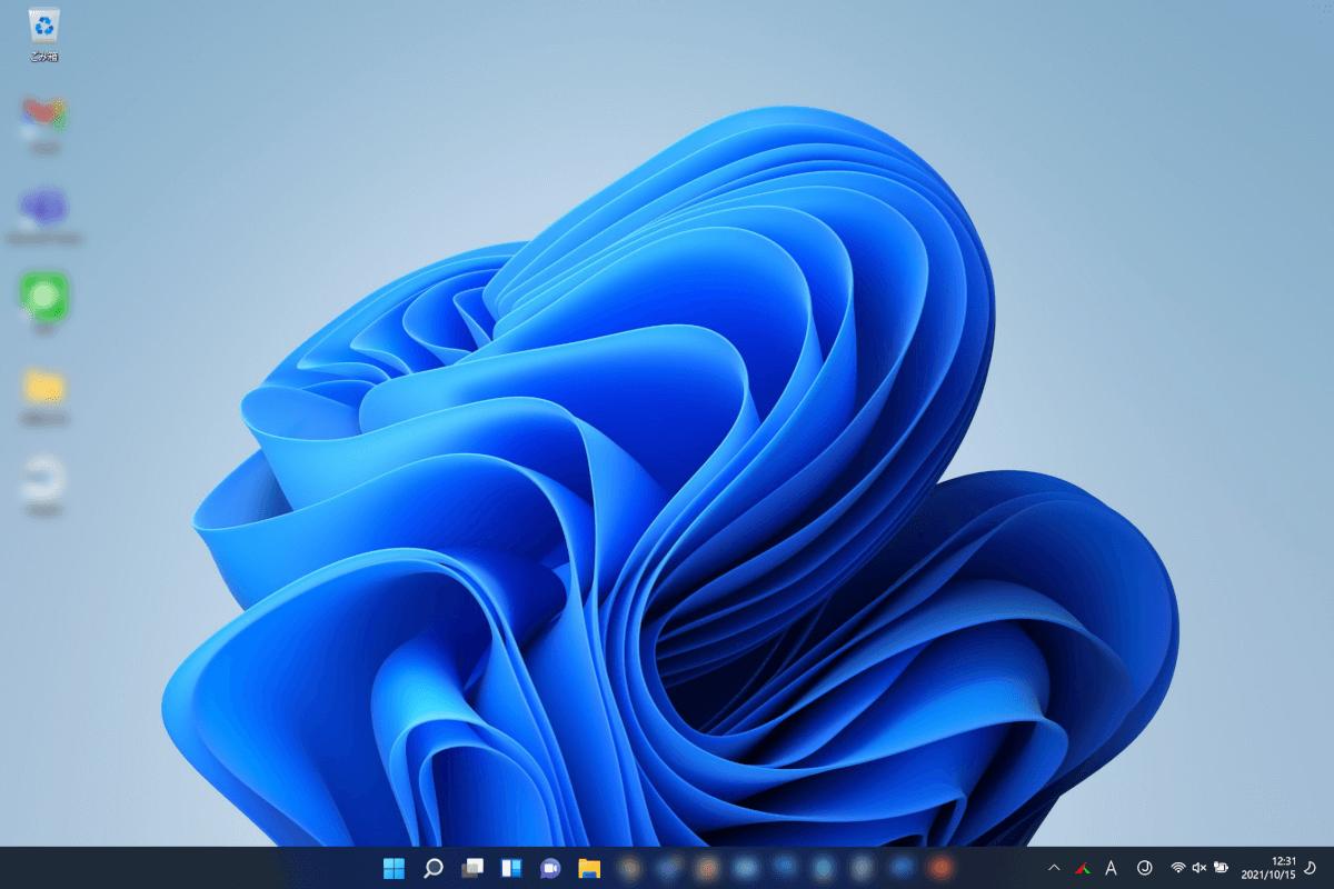 windows11への更新が完了する