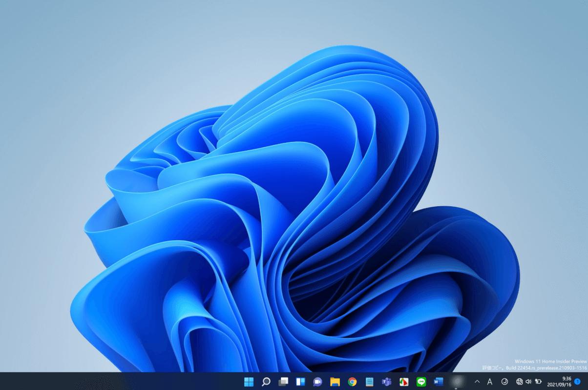 Windows 11のインストール完了