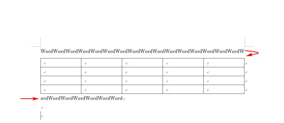 文字の羅列