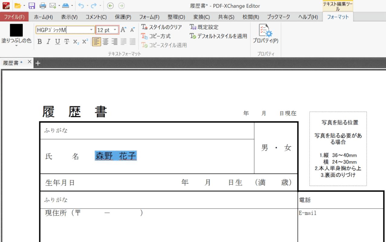 write-downloaded-pdf PDF-XChange Editor 大きさ